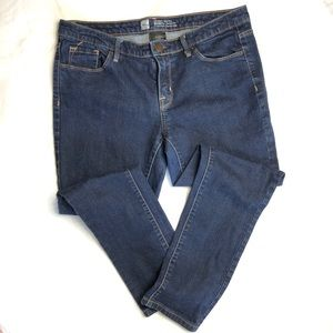 Mossimo modern skinny jeans size 8s